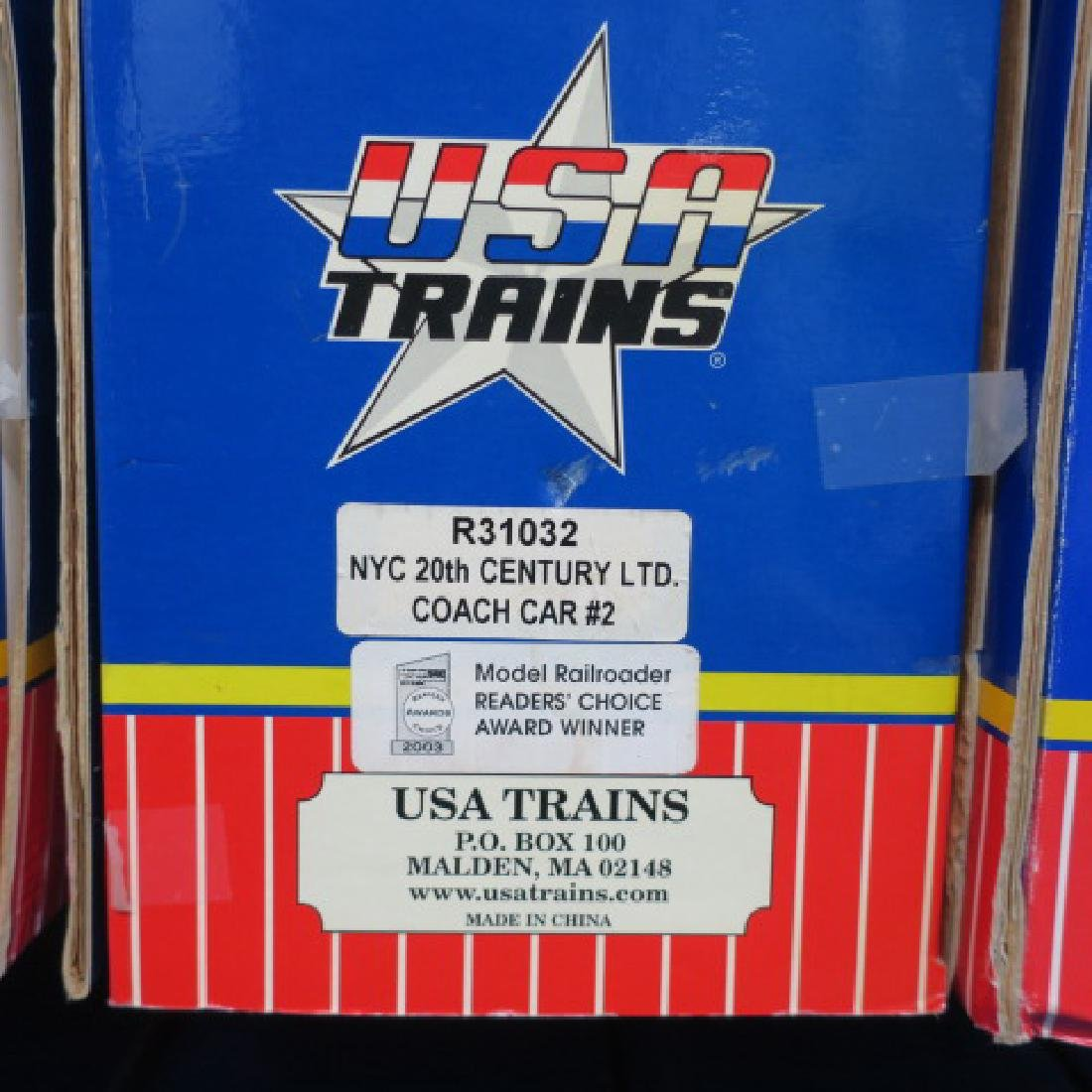 USA TRAINS R31032, NYC 20th CENT LTD COACH CAR #2: - 3