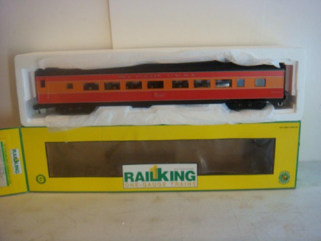RAIL KING 70-67001, 70' SP STREAMLINED PASSENGER CAR: