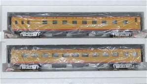 MTH, O Scale, UNION PACIFIC SLEEPER/DINER SET: