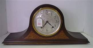 265: Seth Thomas Mahogany 8 Day Strike & Chime Clock: