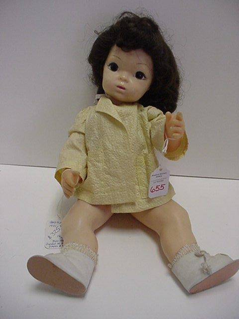 655: Terri Lee Child Hard Plastic Doll: