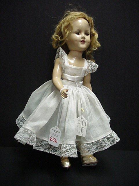 656: Sonja Henie 1939 Madam Alexander Doll: