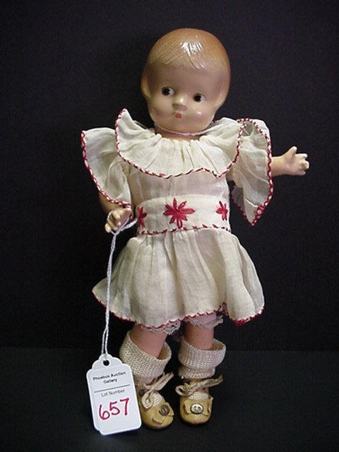 657: Effanbee Patsyette Doll: