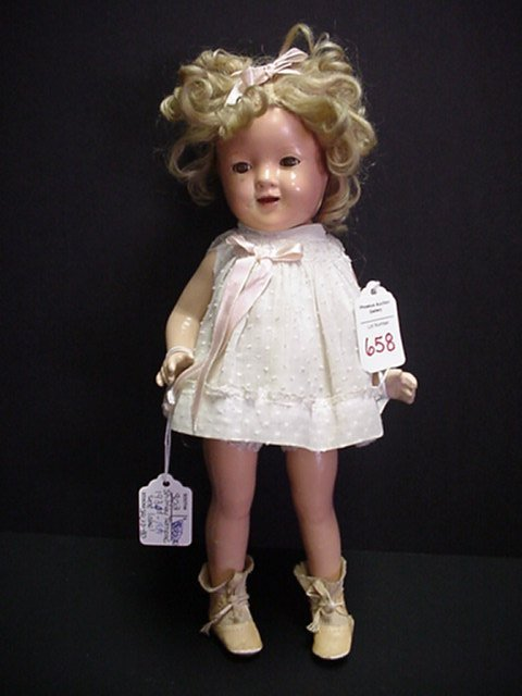 658: H and J Foulke Shirley Temple Doll: