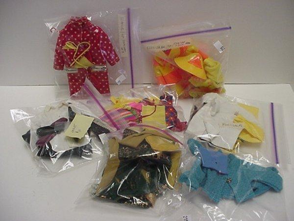 669: Ken, Francie and Skipper Doll Clothes: