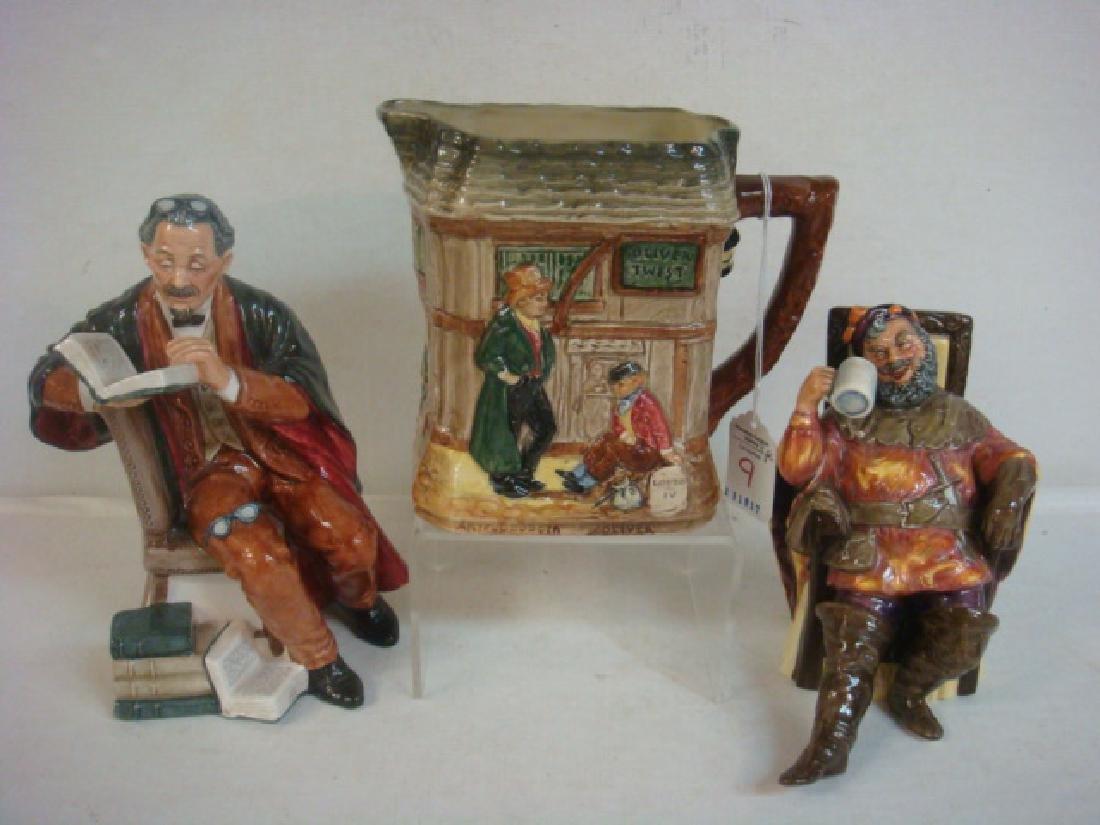 Three Royal Doulton Figurines: