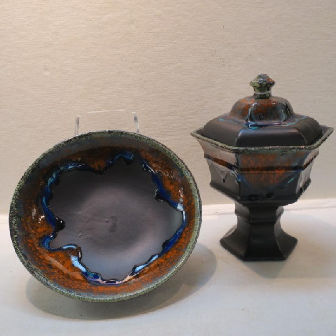 ROYAL HAEGER Console Bowl and Candy Dish: