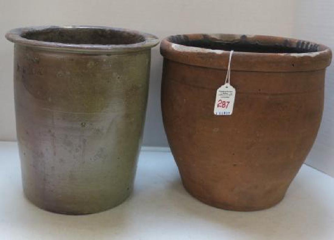 Two Antique Crocks: