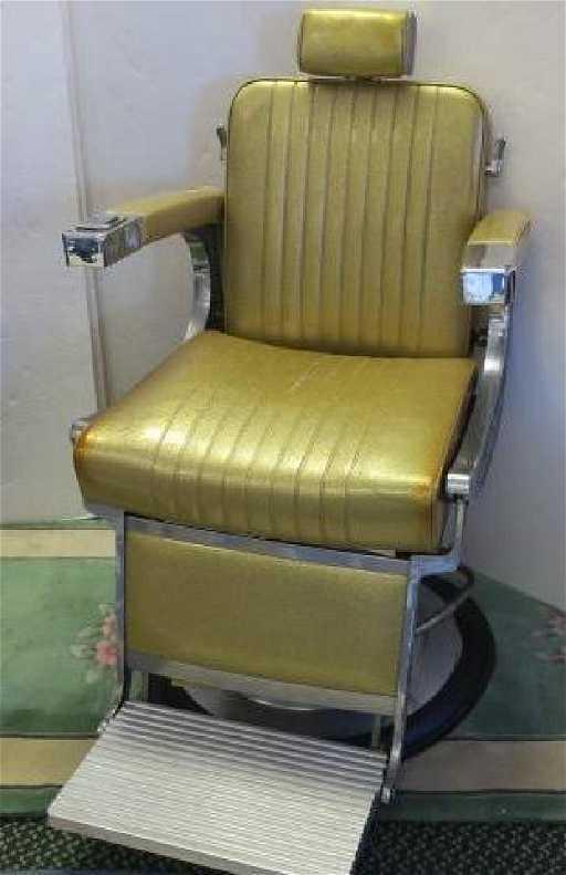 - Vintage TAKARA BELMONT Barber Chair With Headrest:
