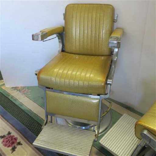 - Vintage TAKARA BELMONT Barber Chair: