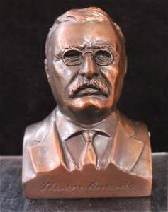 THEODORE ROOSEVELT Bust Bank from ROOSEVELT BANK: