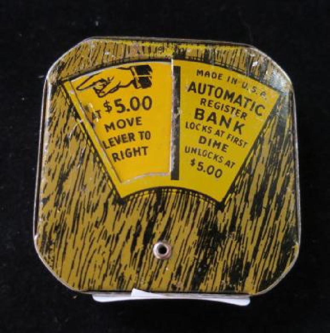AUTOMATIC REGISTER DIME BANK: