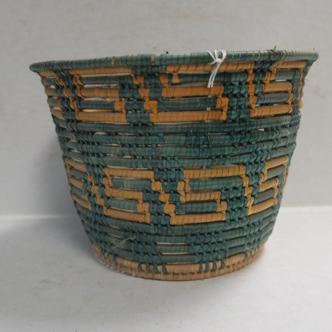Traditional hand Made Open Coil Basket: - 2