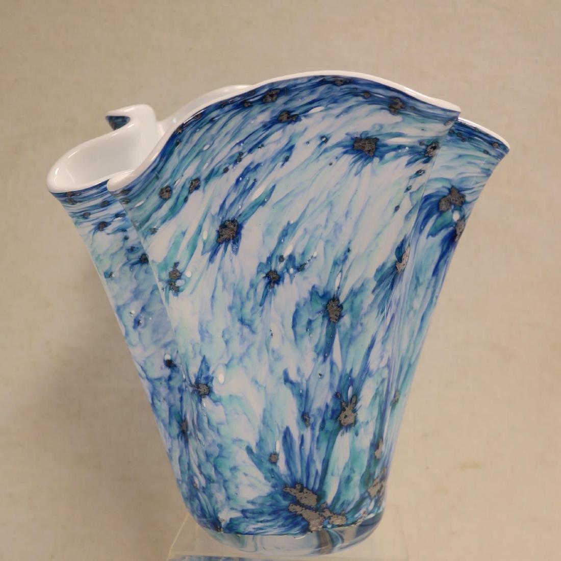 Jack in the Pulpit, Ruffle Pitcher, Handkerchief Vase: - 2