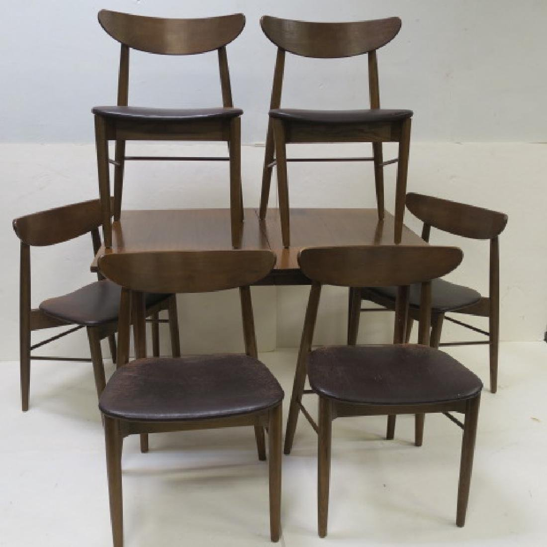 Mid-Century Modern 7 pc. Dining Set by STANLEY: