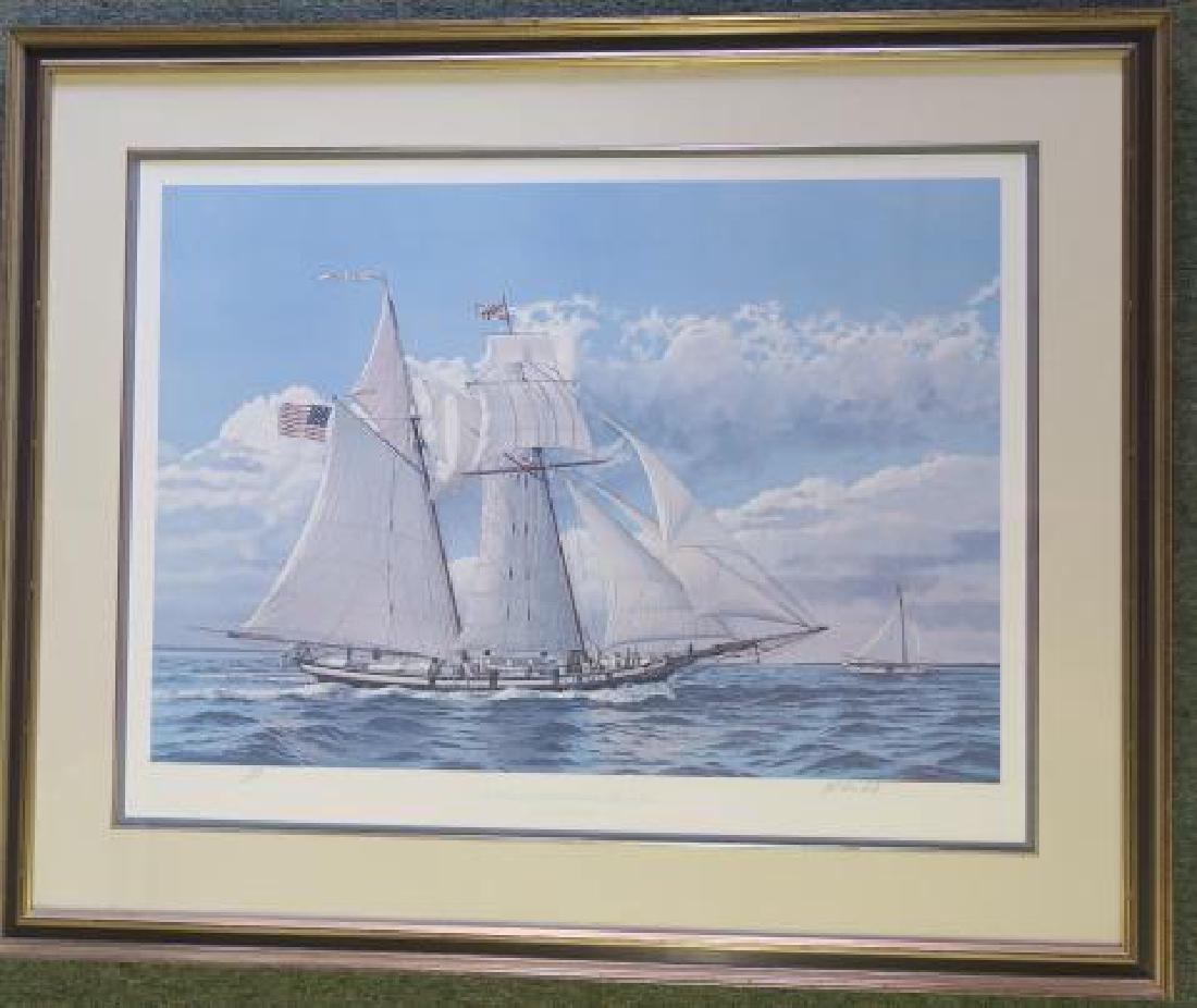 """JOHN McLEOD """"The Pride of Baltimore"""" 712/1250 S/N:"""