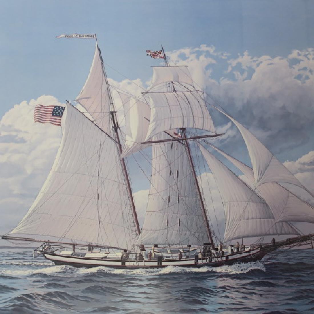 """JOHN McLEOD """"The Pride of Baltimore"""" 712/1250 S/N: - 2"""