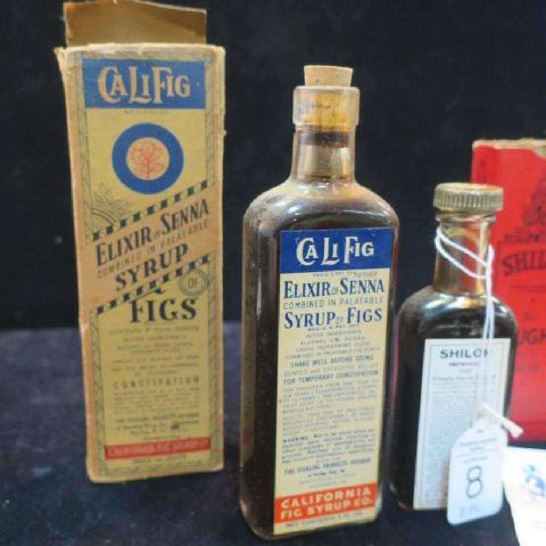 "Two Patent Medicines ""CALIFIG and SHILOH'S"" in Boxes: - 2"