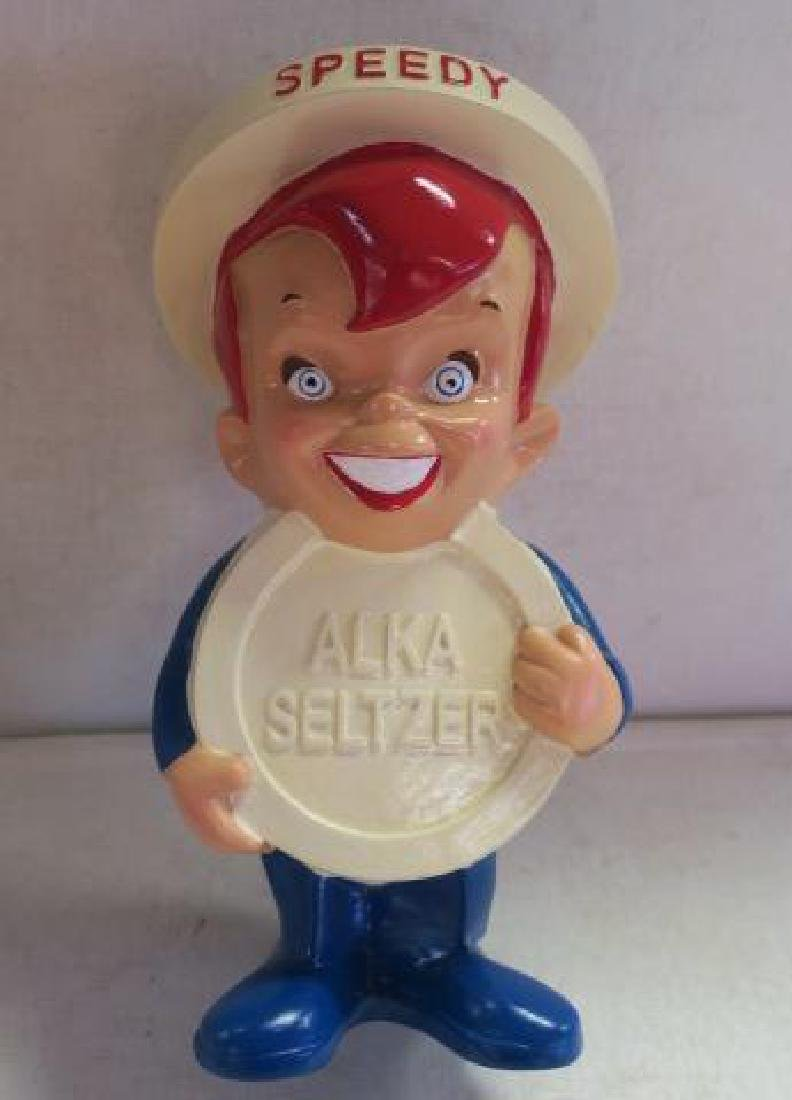 SPEEDY ALKA SELTZER Countertop Advertising Figurine: