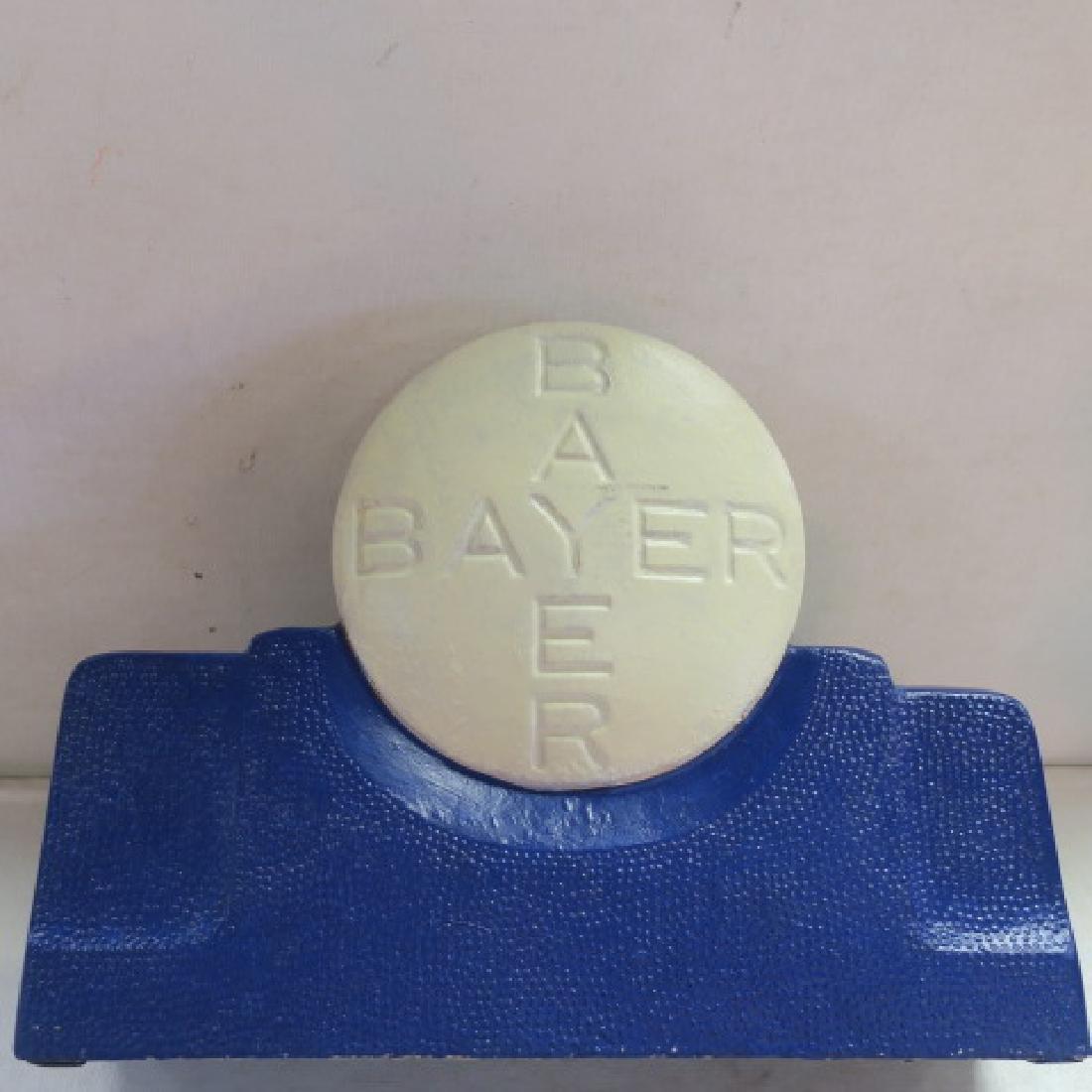 BAYER ASPIRIN Tablets Tin Counter Display: - 3
