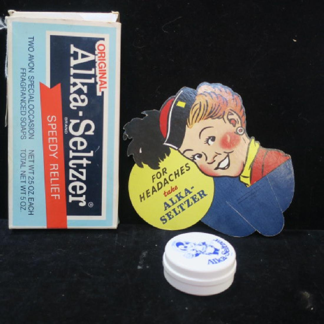 Four ALKA-SELTZER Counter Top Items - 2
