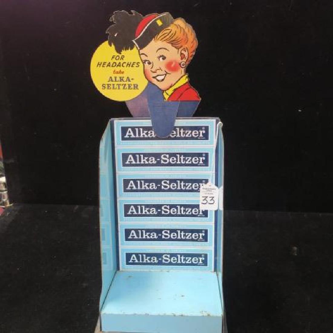 Four ALKA-SELTZER Counter Top Items - 5