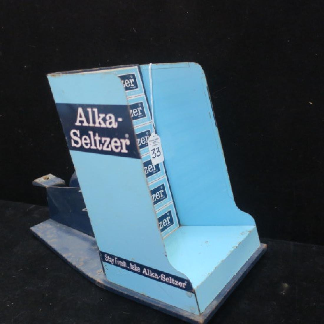 Four ALKA-SELTZER Counter Top Items - 6
