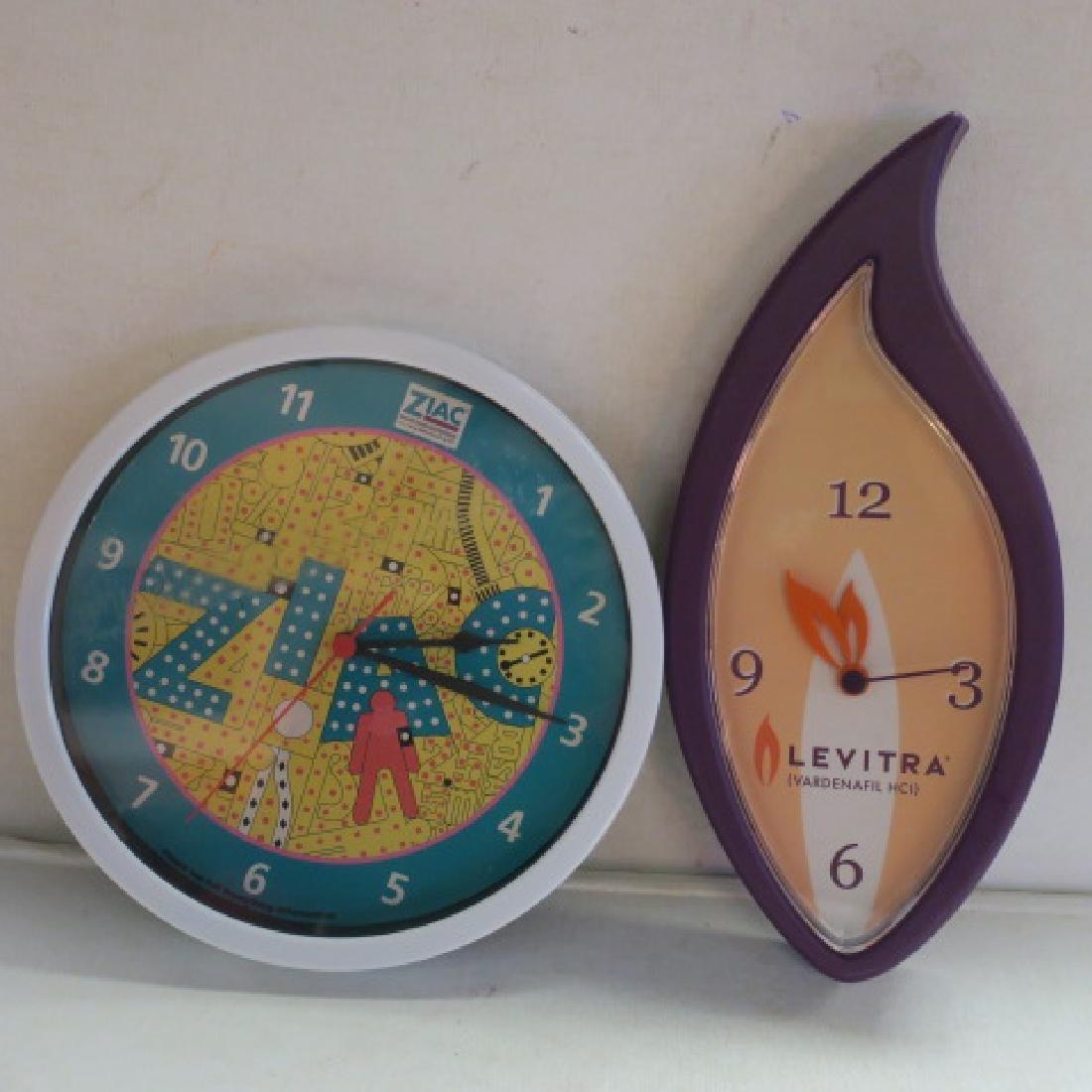 ZIAC and LEVITRA Drug Company Clocks: