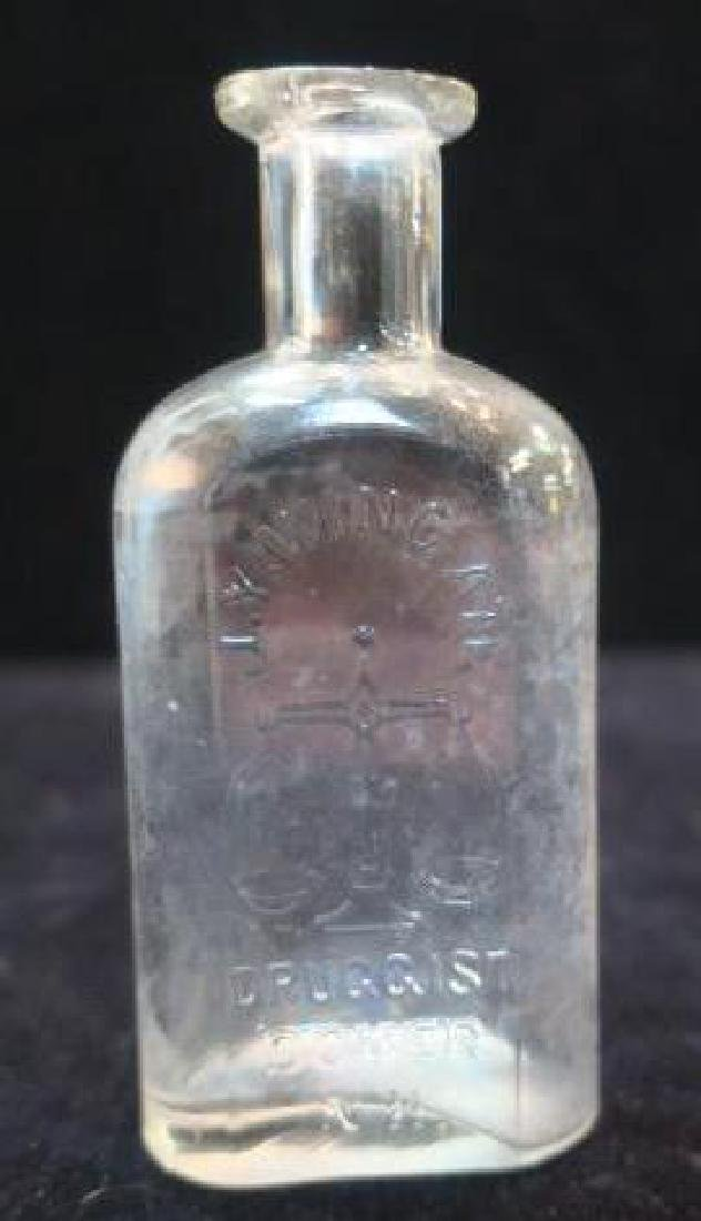 J.Y. WINGATE DRUGGEST DOVER NH, CA 1900 Bottle: