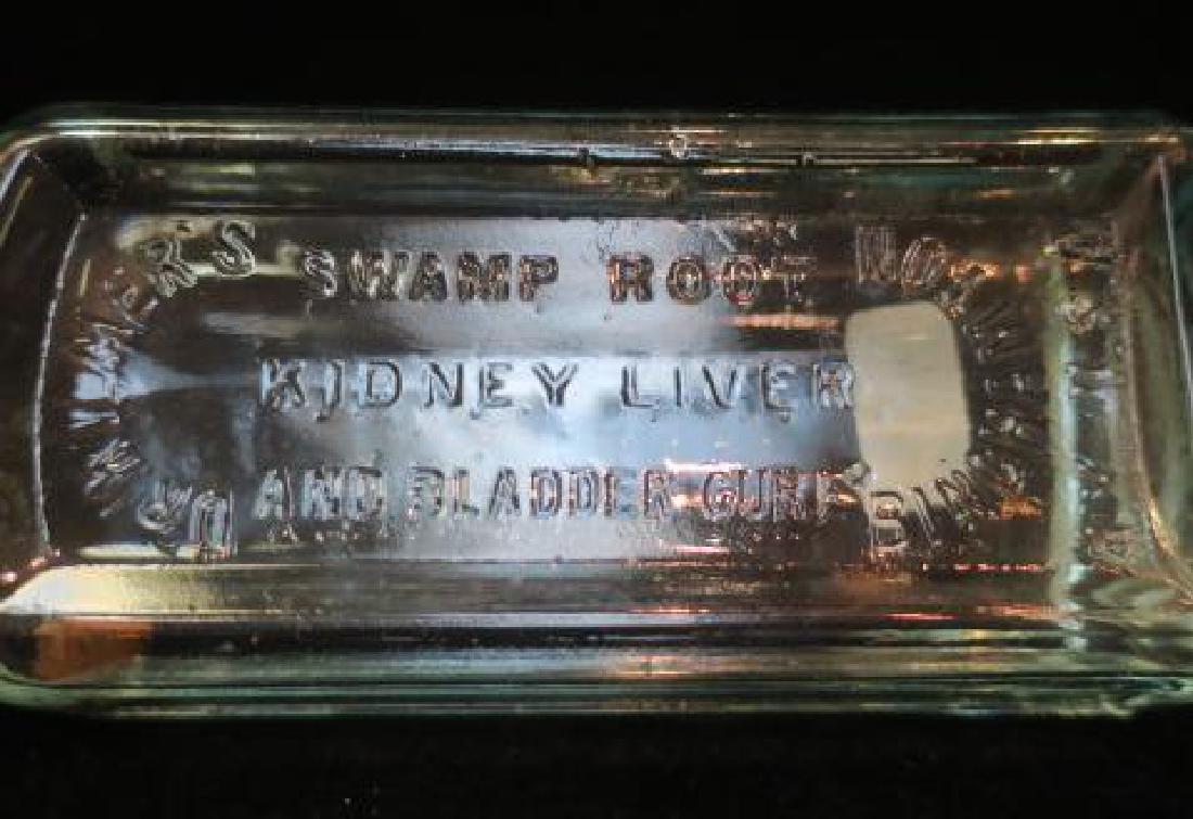 DR KILMER'S SWAMP ROOT Clear Glass Bottle: