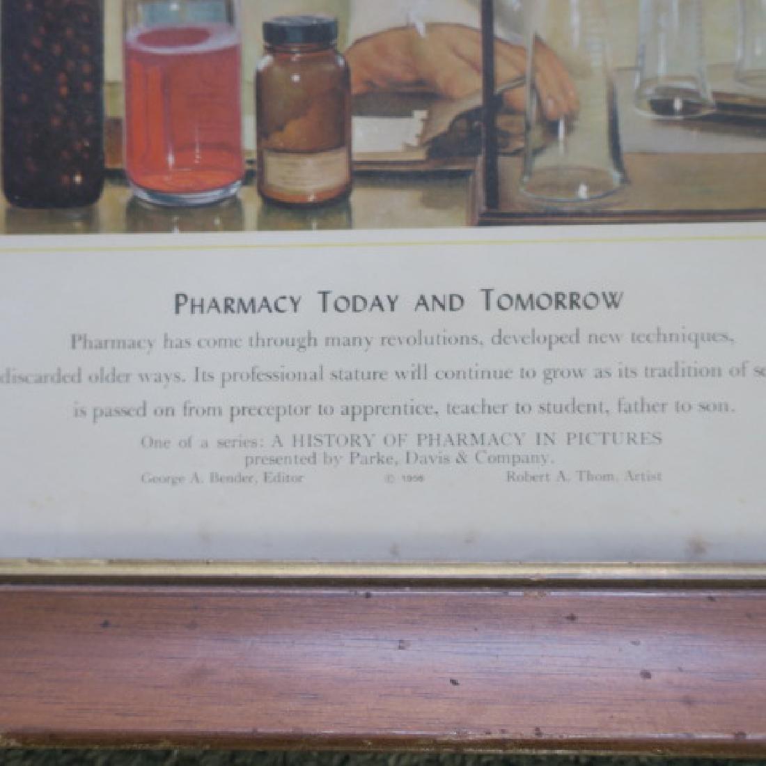 PHARMACY TODAY & TOMORROW Print, Robert A Thom, 1956: - 3