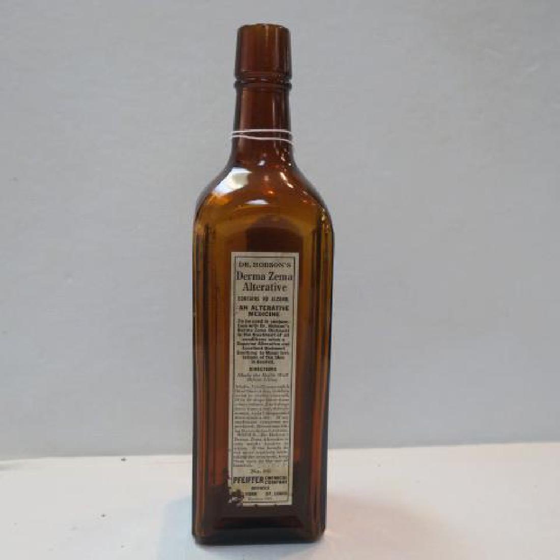 DR HOBSON'S DERMA ZEMA ALTERNATIVE Amber Glass Bottle: