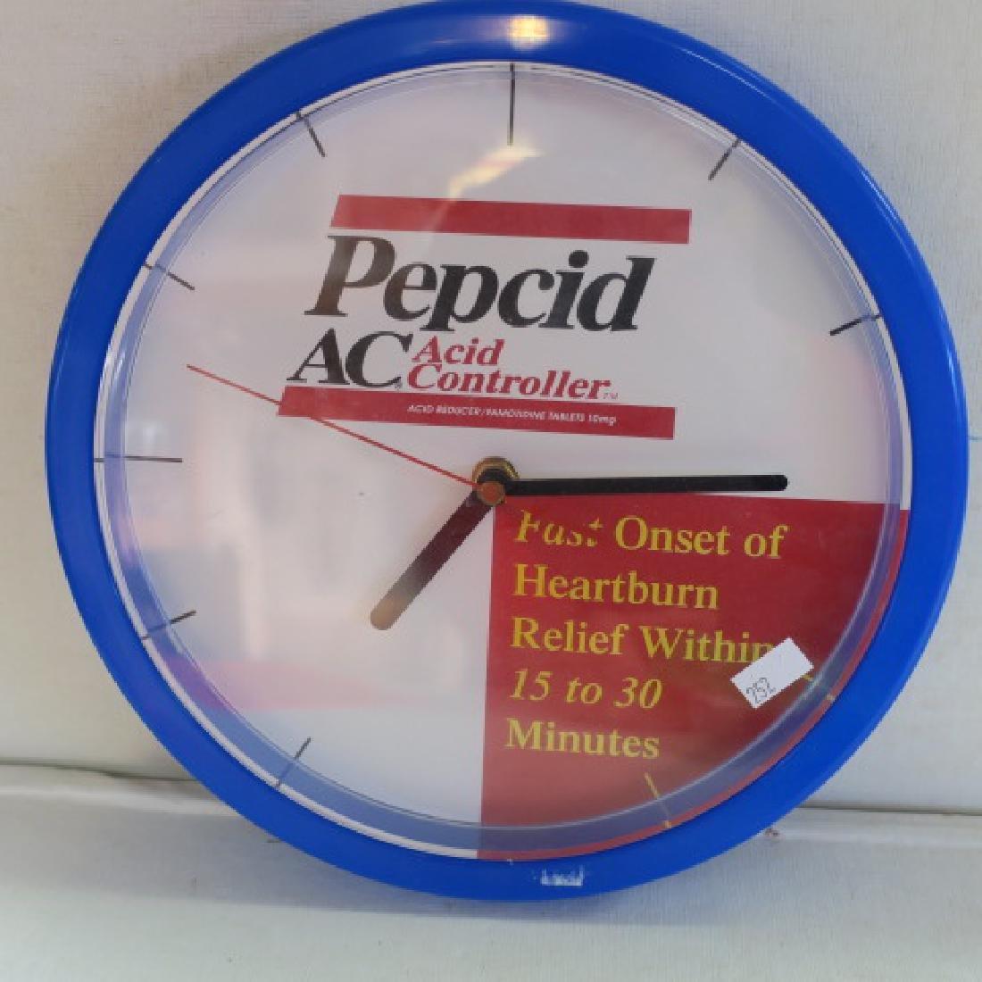 PEPCID AC & CELEBREX Wall Clocks: - 2