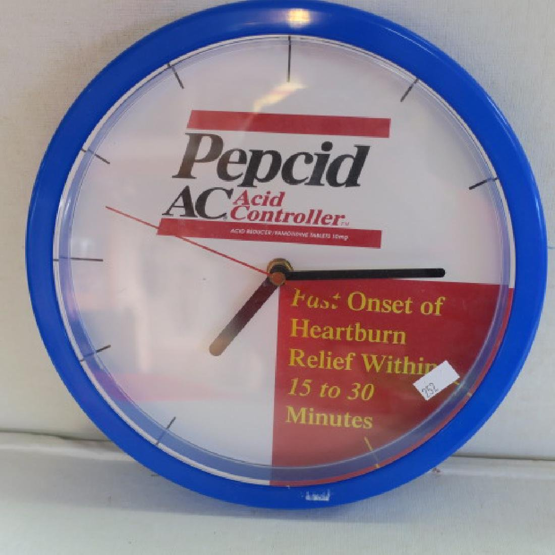 PEPCID AC & CELEBREX Wall Clocks: - 2
