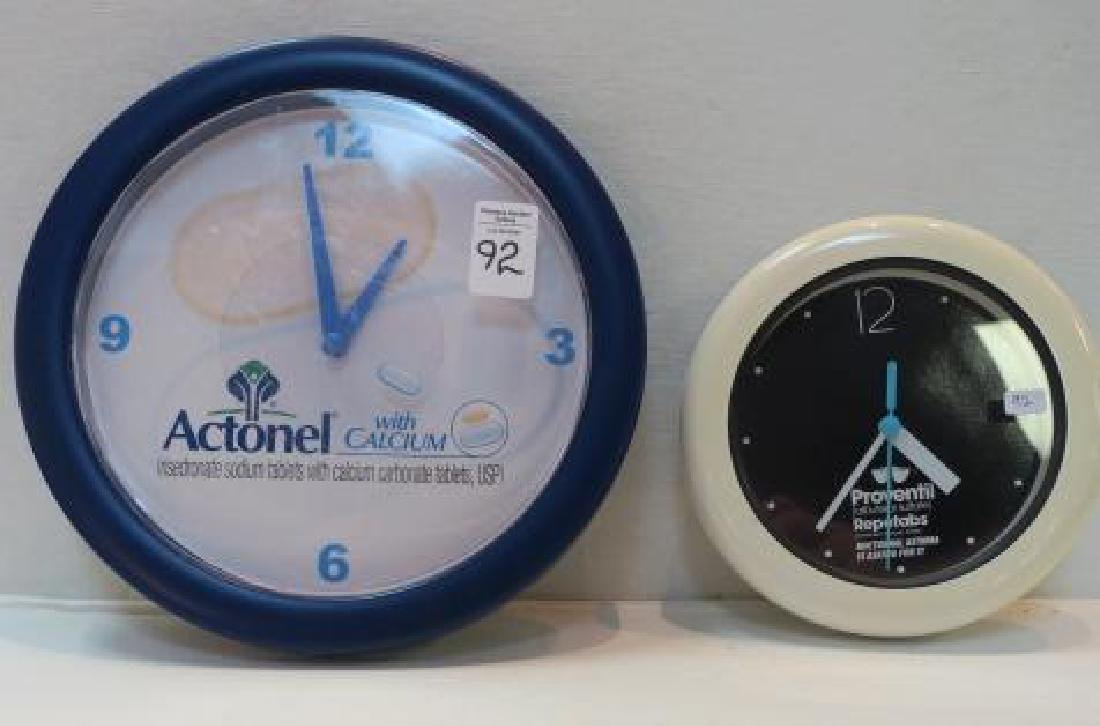 PROVENTIL and ACTONEL with CALCIUM Wall Clocks: