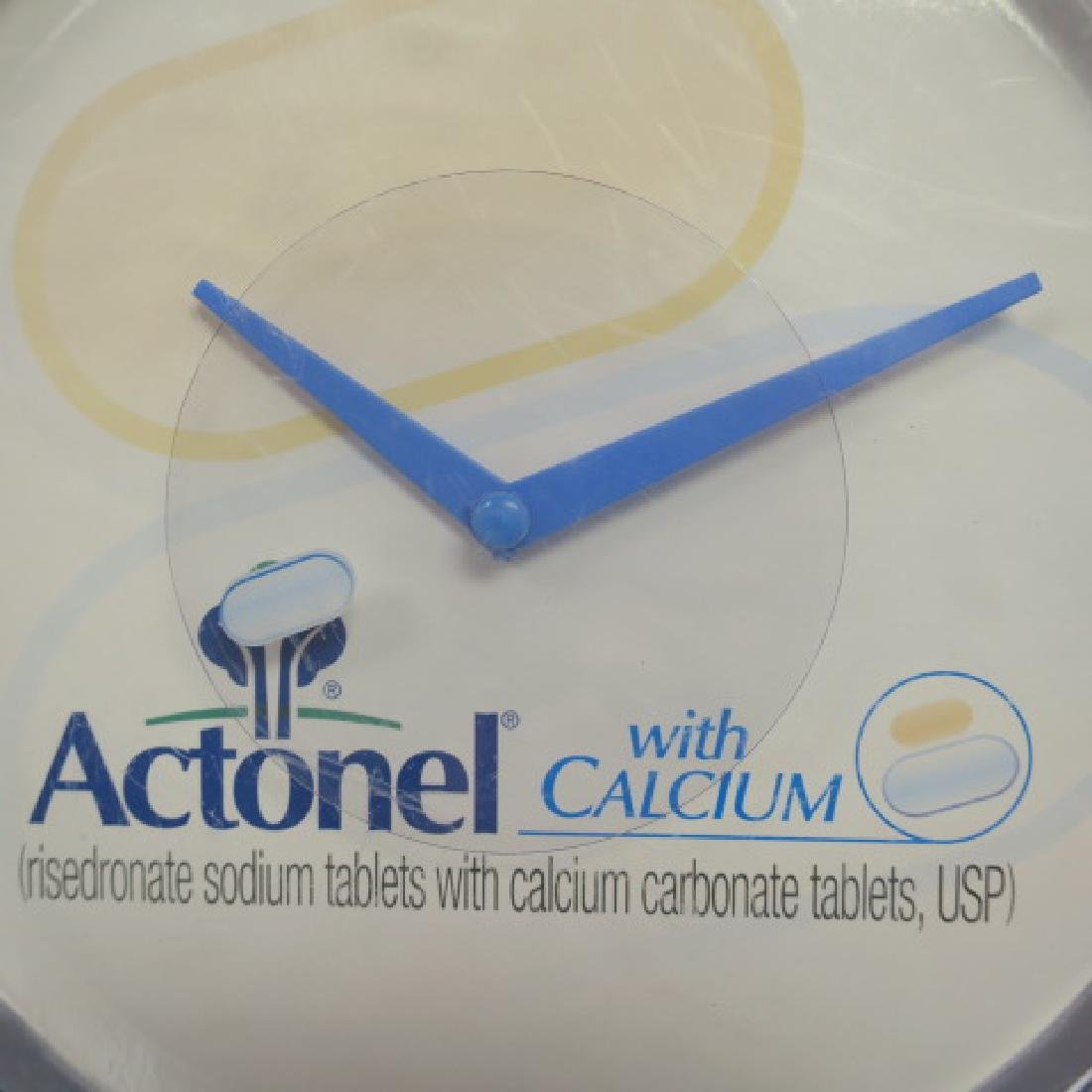 PROVENTIL and ACTONEL with CALCIUM Wall Clocks: - 2