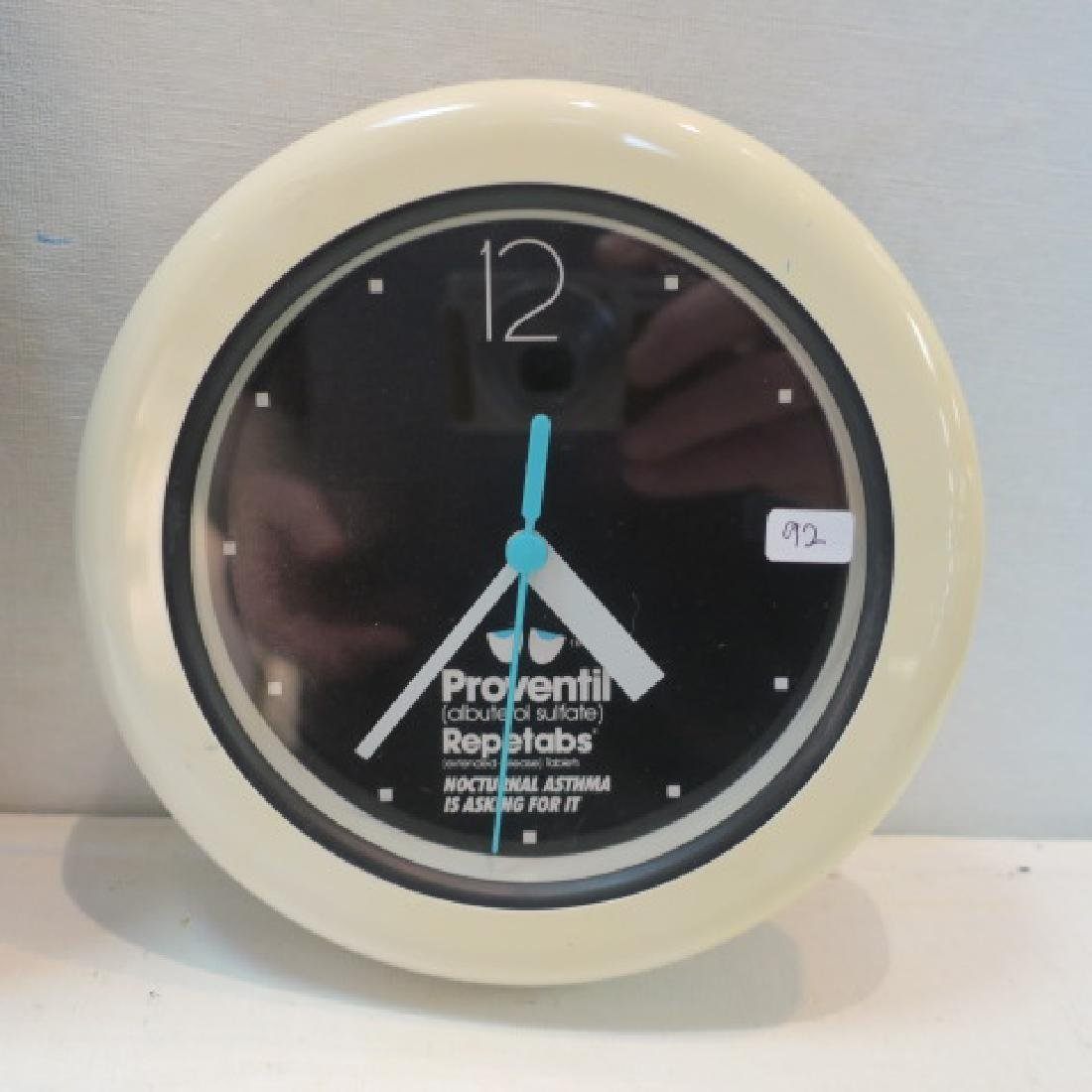 PROVENTIL and ACTONEL with CALCIUM Wall Clocks: - 3