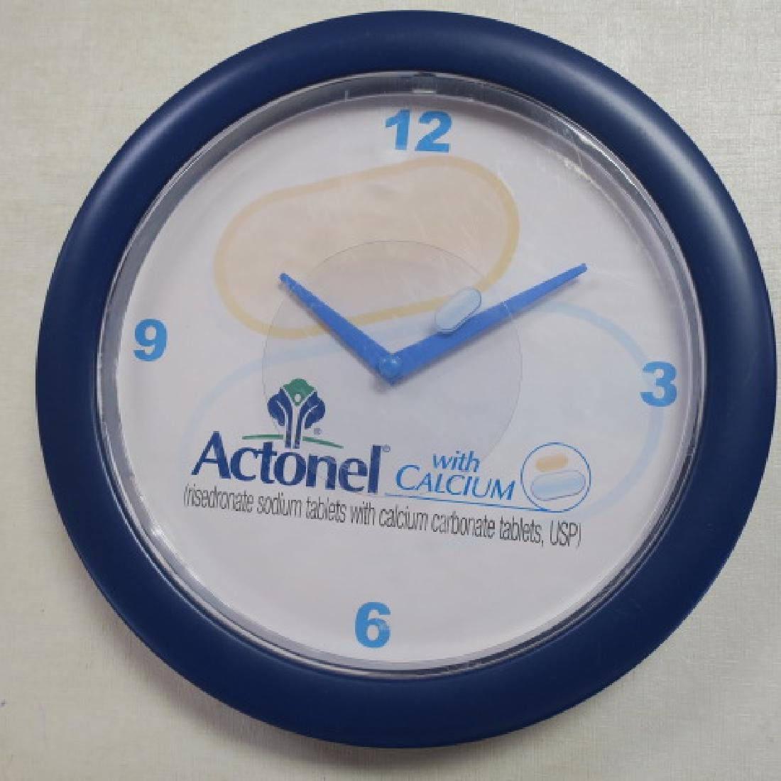 PROVENTIL and ACTONEL with CALCIUM Wall Clocks: - 4