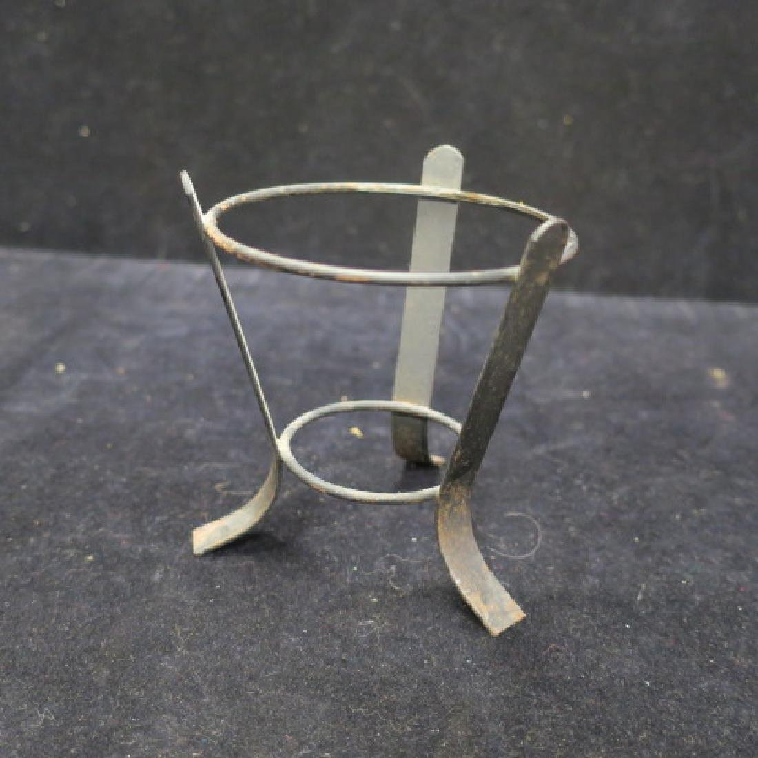 Pharmacy Vessel On Metal Stand with Flame Stopper: - 3