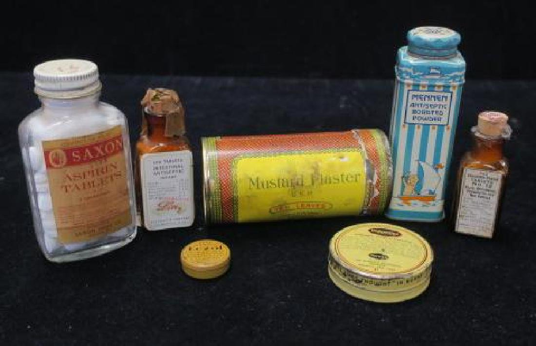 Lot of Vintage Patent Medicines: