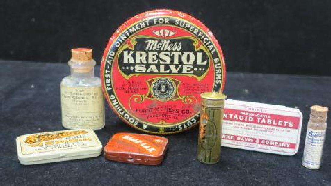 Lot of Vintage Patent Medicines: