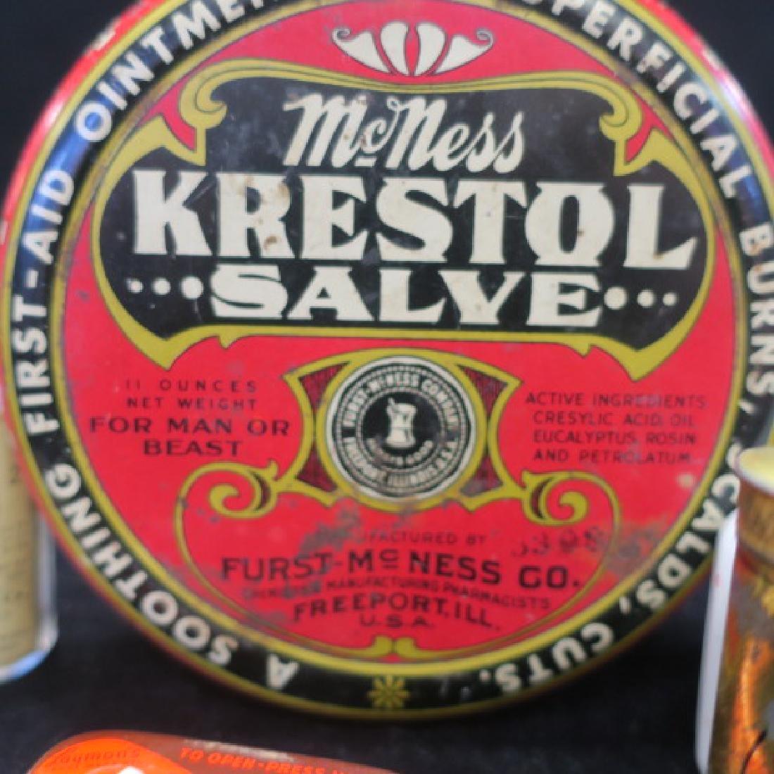 Lot of Vintage Patent Medicines: - 3