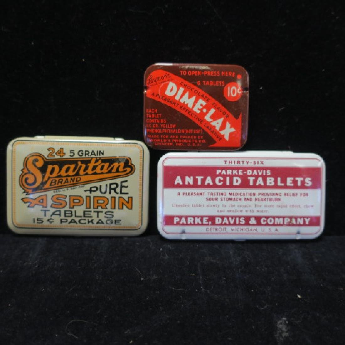 Lot of Vintage Patent Medicines: - 4