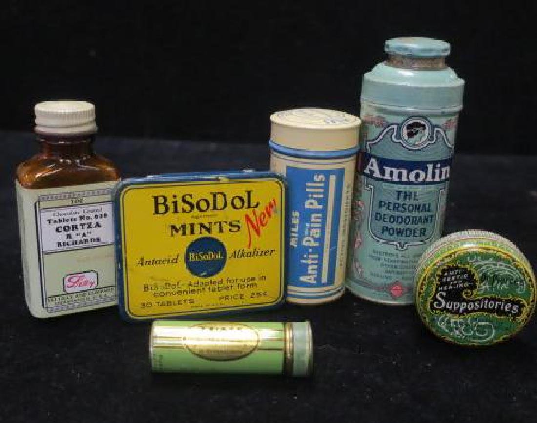 Lot of Vintage Patent Medicines, Dr. PIERCE'S :