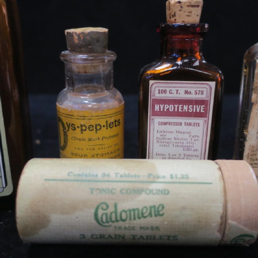 Lot of Vintage Patent Medicines: - 2
