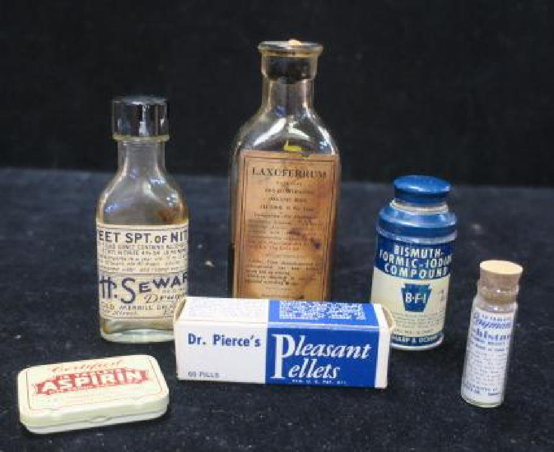 Lot of Vintage Patent Medicines: PLEASANT PELLETS+