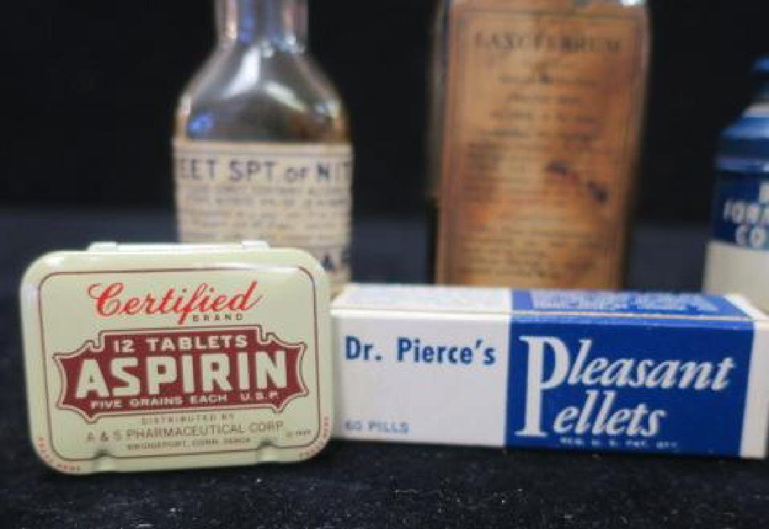 Lot of Vintage Patent Medicines: PLEASANT PELLETS+ - 2