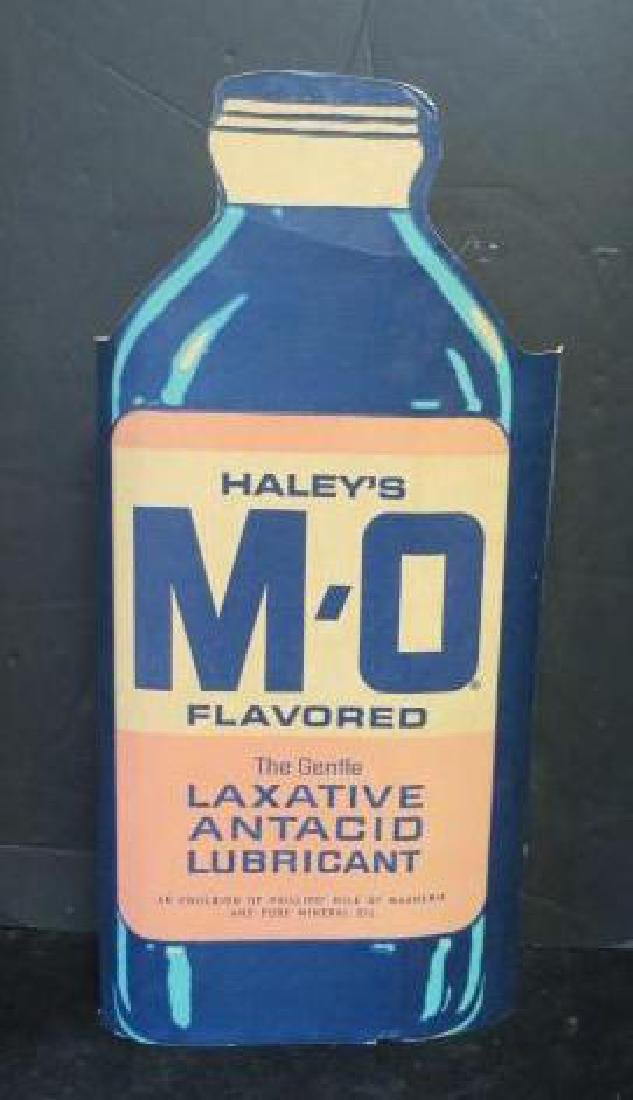 HALRY'S MO Advertising Stand Up Bottle Sign: