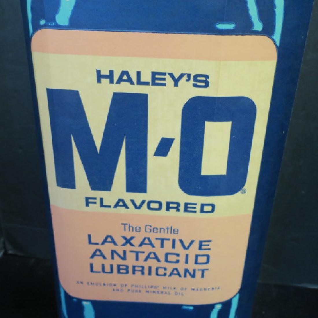 HALRY'S MO Advertising Stand Up Bottle Sign: - 2