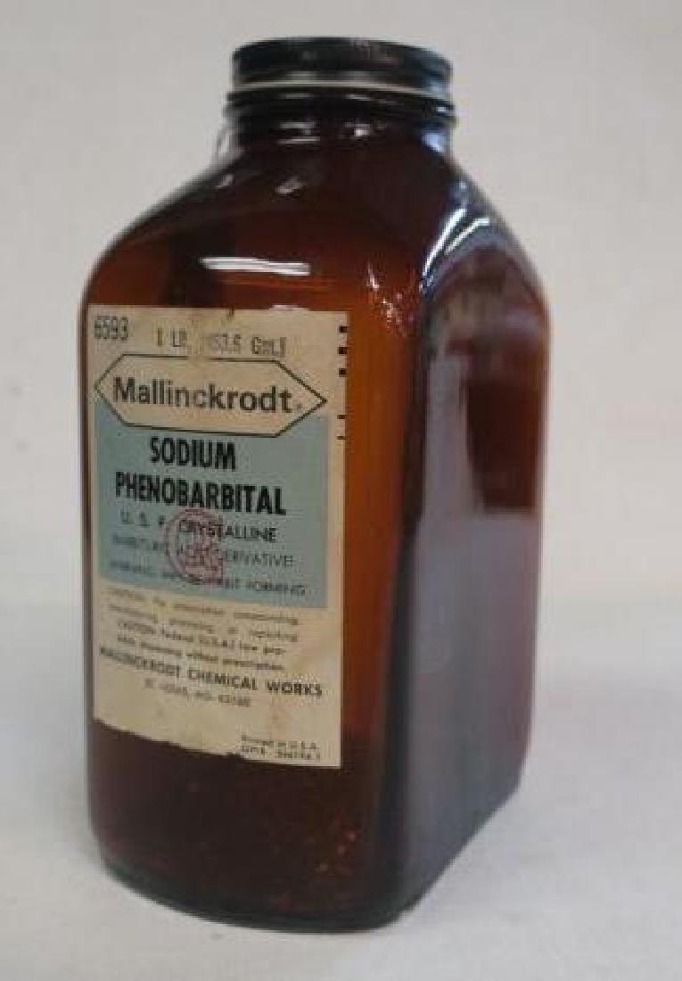 "MERCK ""SODIUM PHENOBARBITAL Amber Bottle"